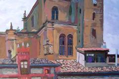 Tendedero, 2004, del natural, 450, Peñaranda de Duero, Burgos, 101x76 cm