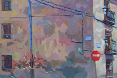12. Cuesta Santiago, 2005, del natural, 550, San Lorenzo del Escorial, 116x89 cm