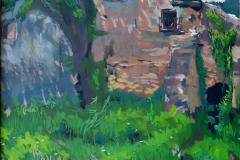 15. Molino, 2005, del natural, 700, Trillo, Guadalajara, 100x73