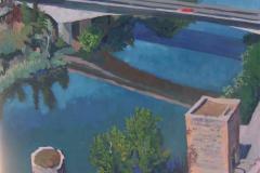 17. Cruces, 2005, del natural, 600, Puente Nuevo, Toledo, 100 x 81 cm