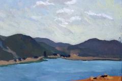 5. Atardecer en Gasset, del natural, 250, Fernán Caballero, 20x27 cm