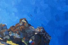 6. Alpinistas, 2005, del natural, 200, 24x23 cm