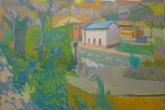 10-Casas-en-miniatura-2006-del-natural-500-Albolote-Granada-116x73-cm