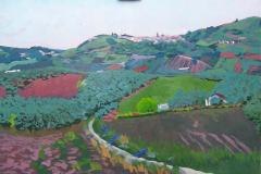 19-Panorámica-de-Castellar-2006-420€-Jaén-óleo-del-natural-92x60