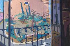 2 Medina en la Torre Gorda, 2007, Miguelturra, óleo del natural, 600€, sin medidas