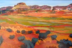 10. Ruge Montiel, 2010, óleo sobre tabla del natural. 81x116 cm, 550€