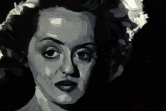 3. Bette Davis (2013). Óleo sobre tabla, 12,5x14 cm. 55€