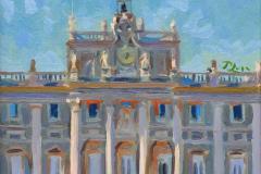7. Palaze (2015), Palacio Real, Madrid. Óleo sobre lienzo, 20 x 20 cm. 120€