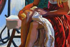 13. Sensualité (2016), de la película Renoir de Gilles Bourdos, 2012. Óleo sobre lienso sobre tabla, 26 x 23 cm. 100€