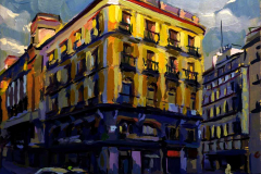 2012. La vuelta al curro. Puerta del Sol